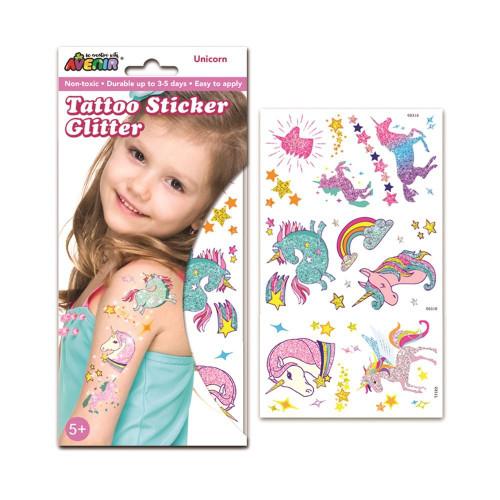 Avenir Glitter Tatoo - Unicorn