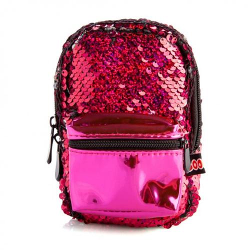 Backpack minis - sequin fuchsia