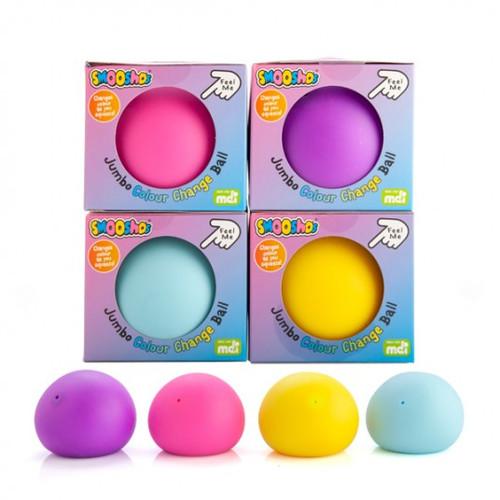 Jumbo smooshos ball colour change