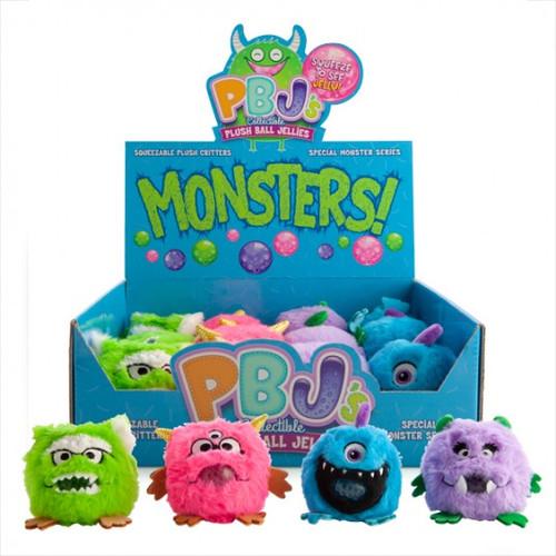 Squishy bubble plush monster