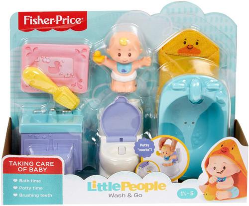 Little people babies playset wash & go