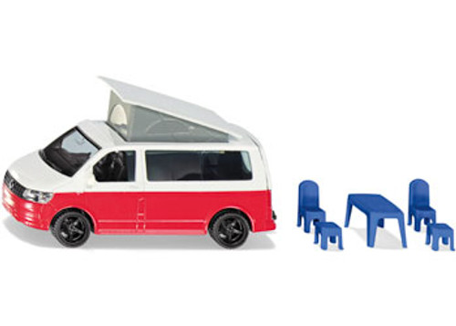 Siku - vw t6 california with moveable roof 1:50 scale