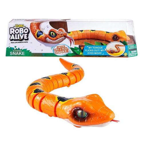 Robo Alive Robotic Snake - Orange