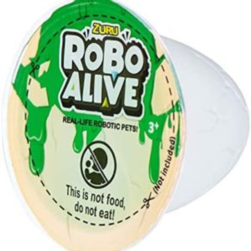 ROBO ALIVE ROBOTIC DINOSAUR WITH SLIME - T-REX GREEN