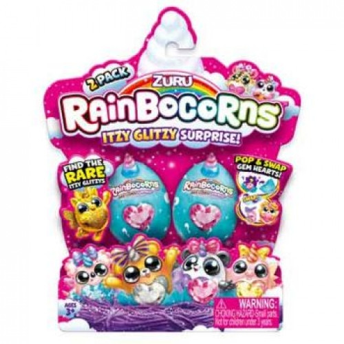 Rainbocorns Itzy Glitzy Surprise 2 Pack