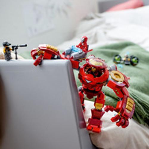 LEGO SUPER HEROES - IRON MAN HULKBUSTER VERSUS A I M AGENT