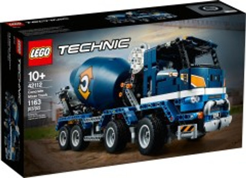 Lego Technic - Concrete Mixer Truck