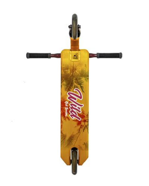 GRIT VIBES WILD-ROSE SCOOTER GOLD/RUBY RED
