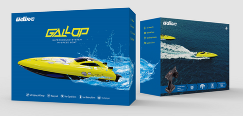 UDI R/C BOAT WITH GALLOP WATER COOLED SYSTEM