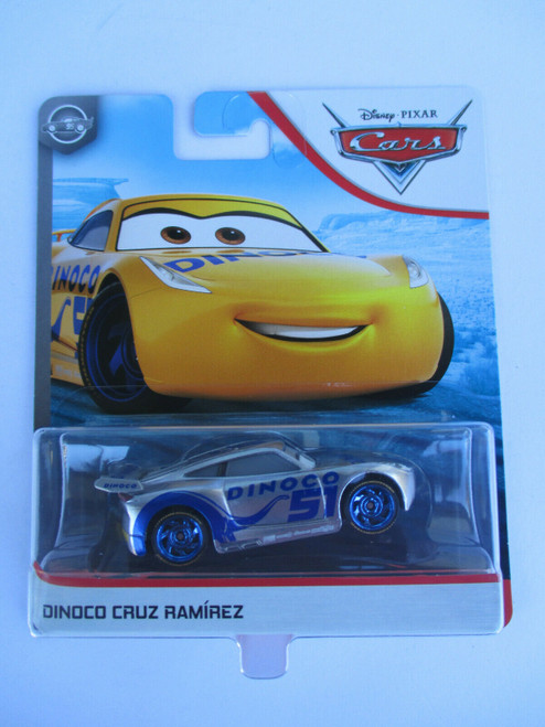 Cars 3 - dinoco cruz ramirez (silver collection)