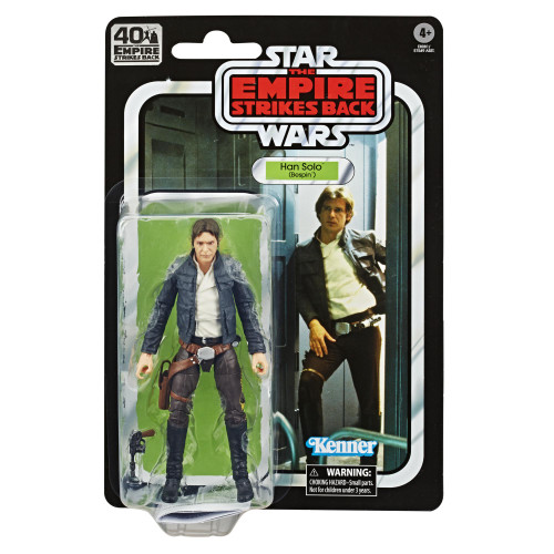 Star wars e5 40th anniversary figure - han solo