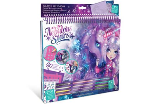 Nebulous stars fantasy horses creative sketchbook