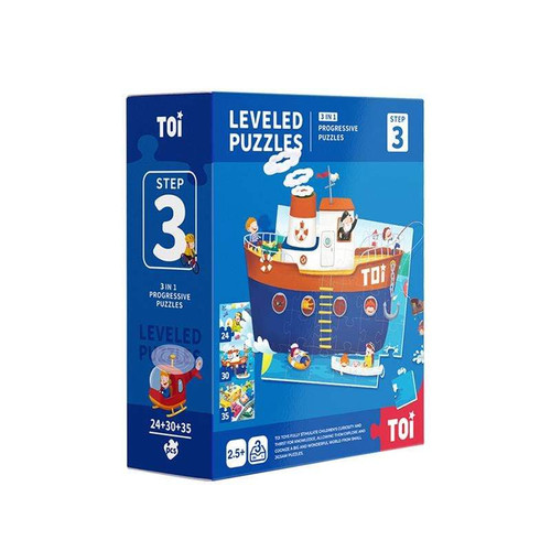 Leveled puzzle 3 In 1 - Step 3 - Traffic