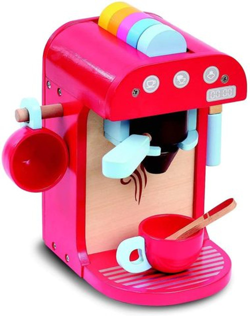 Bubbadoo Wooden Toy Coffee Machine