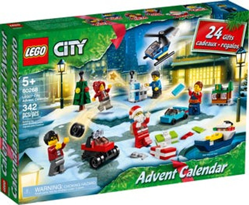 LEGO CITY - ADVENT CALENDAR 60268