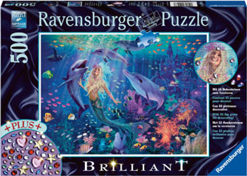Ravensburger - mermaid puzzle 500 piece