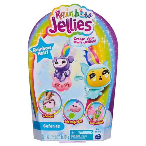 Rainbow Jellies 2 Pack - Safaries
