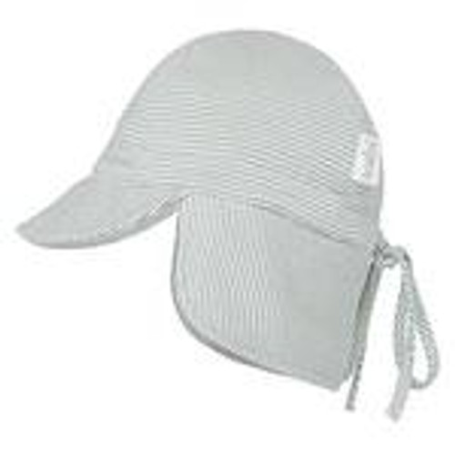 Toshi flap cap baby sage - small