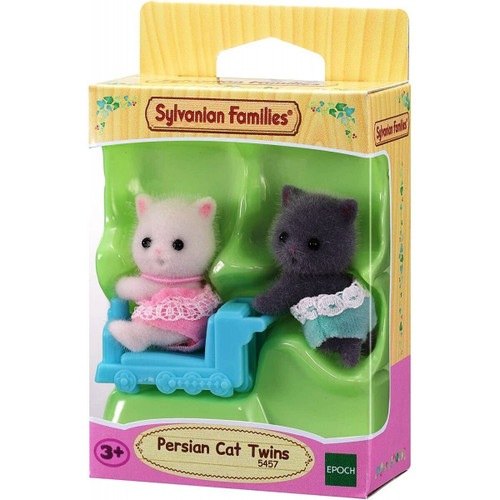 Sylvanian families - persian cat twins