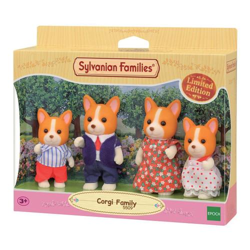 Sylvanian families - corgi family