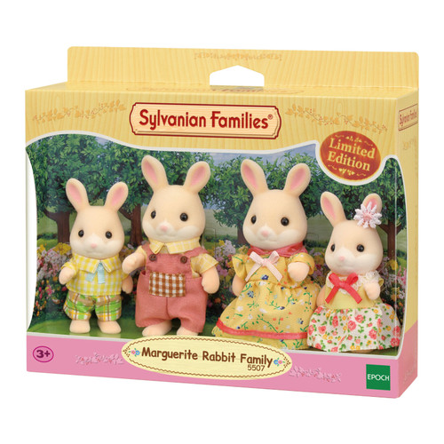 Sylvanian families - marguerite rabbit family