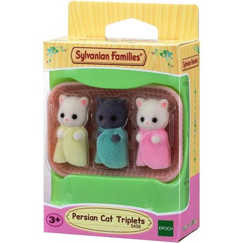 Sylvanian families - persian cat triplets