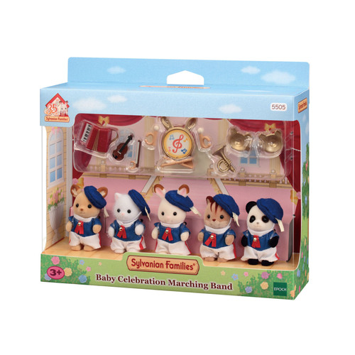 Sylvanian families - baby celebration marching band