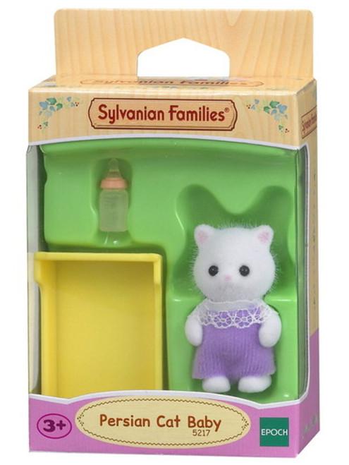 Sylvanian families - persian cat baby