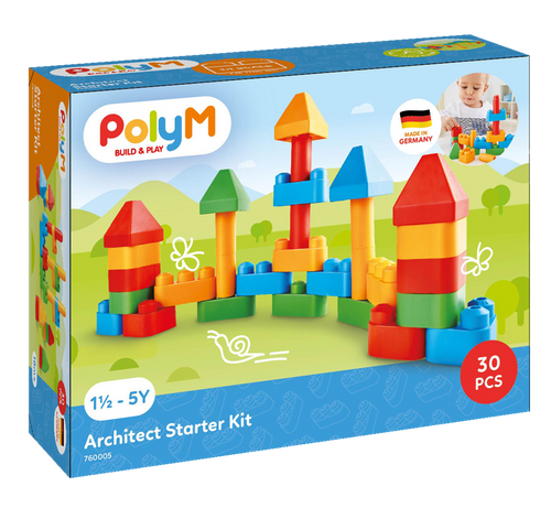 Poly m - architect starter kit 30 pieces