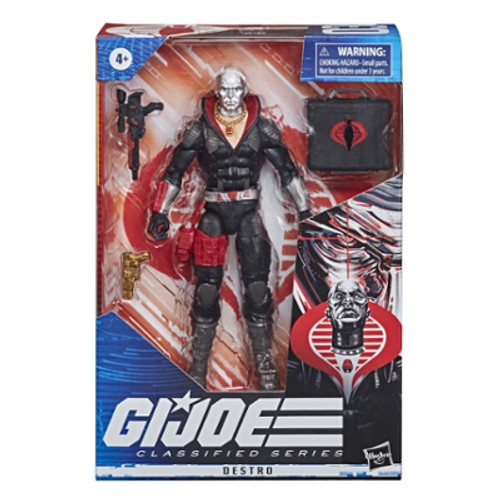 Gi joe classified series figure - destro