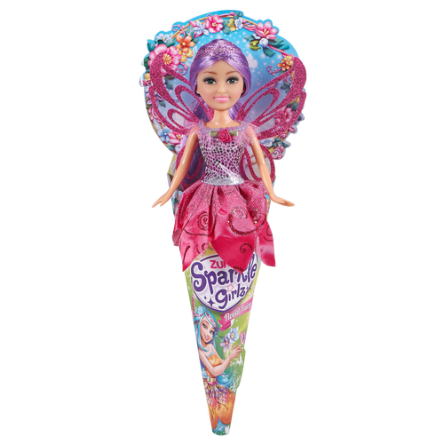 Sparkle Girlz 10.5 Inch Floral Fairy Cone Doll