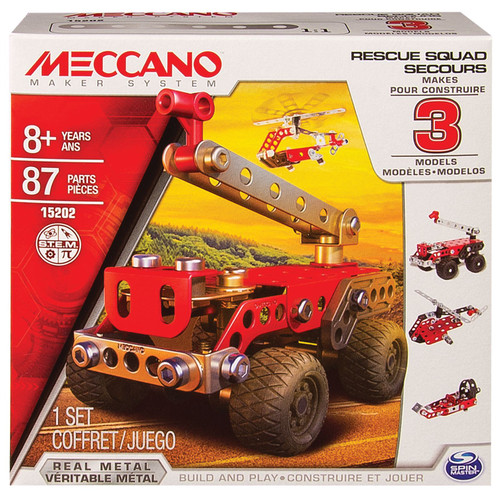 Meccano 3 model set - fire engine