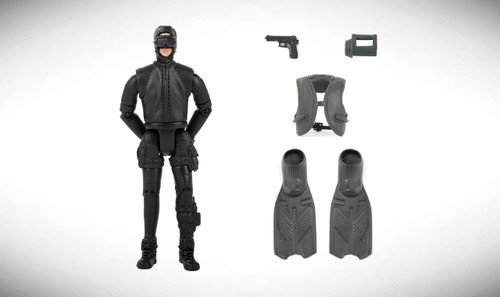 1:18 Scale Single Military Figure With Accessories - 13