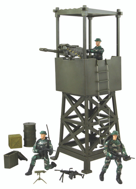 Lookout Tower With Figures
