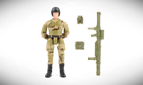 1:18 Scale Single Military Figure With Accessories - 02
