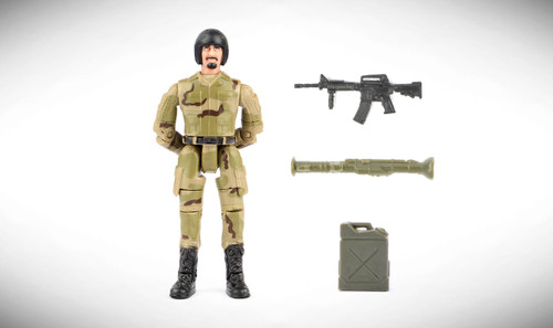 1:18 Scale Single Military Figure With Accessories - 05