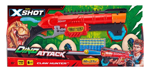 Zuru XSHOT Dino Attack - Eliminator including 24 darts