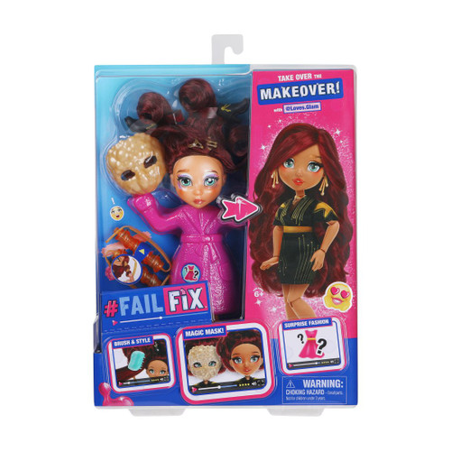 FailFix Total Makeover Doll with @Loves.Glam