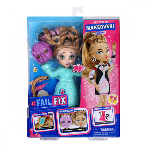 FailFix Total Makeover Doll with @SlayitDJ