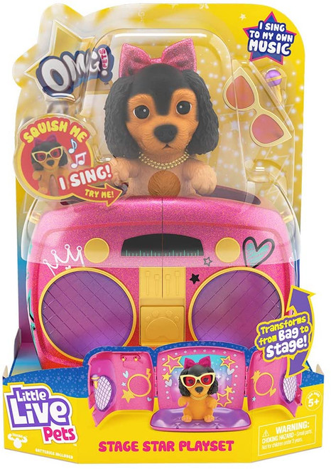 Little Live Pets Stage Star Playset