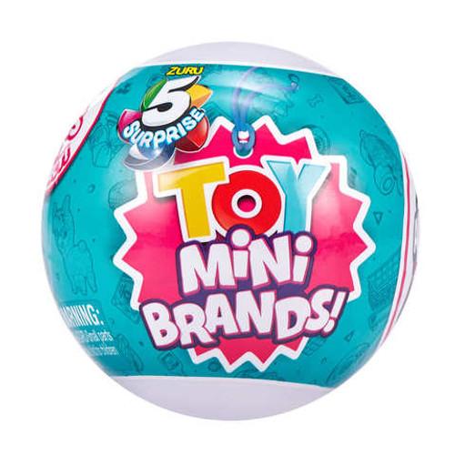 5 Suprise Toy Mini Brands