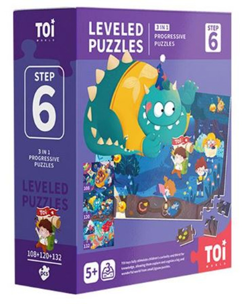 Leveled Puzzles 3 in 1 - Step 6 - Explore