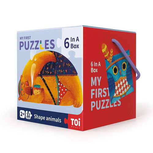 TOI My First Puzzles - Shape Animals
