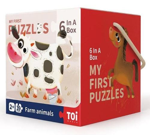 TOI My First Puzzles - Farm Animals