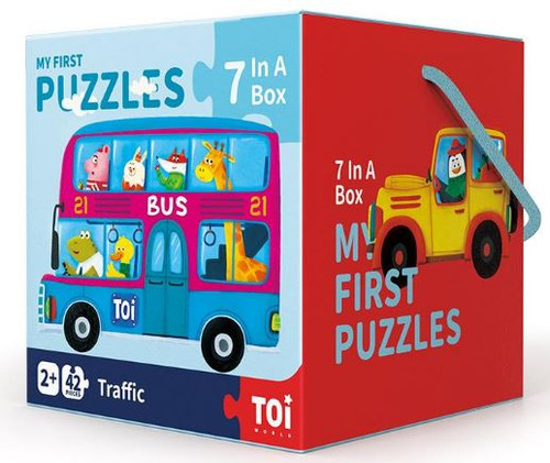 TOI My First Puzzles - Traffic