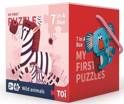 TOI My First Puzzles - Wild Animals