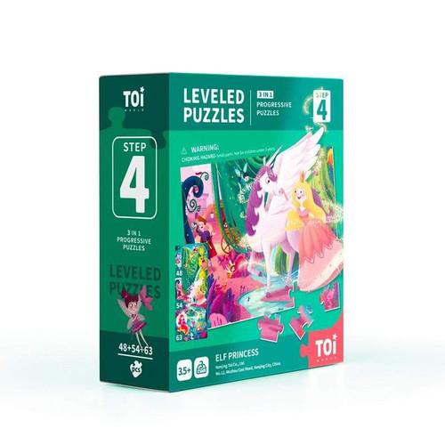 Leveled Puzzle 3 In 1 - Step 4 - Elf Princess