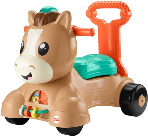 Fisher Price Walk Ride & Bounce Pony