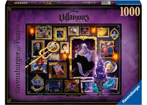 Ravensburger - Disney Villainous Ursula Puzzle 1000 Piece