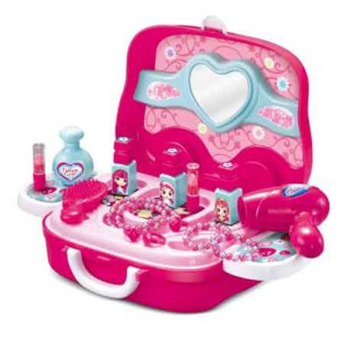 19 Piece Beauty Set Wheely Carry Case